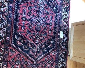 a closer view of persian carpet