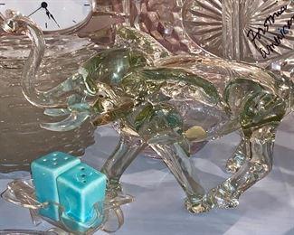 Crystal Elephant-as is