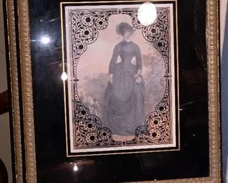 1880's Lady in Riding dress