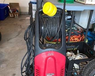 Power washers-sold as is