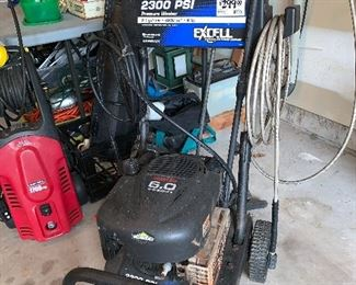 Power washers sold as is