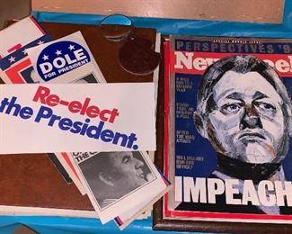 Political items