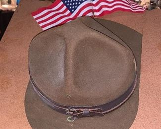 Close up WW1 Campaign Hat