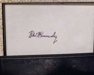 The real deal-Original signature