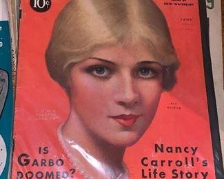 Vintage Hollywood magazines
