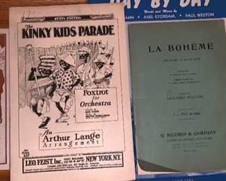 Black memorabilia song book