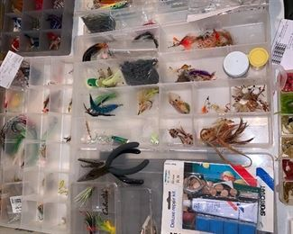 Tons of Lures; vintage, like-new and still in boxes