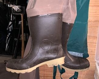 Wading Boots/ pants-size 11