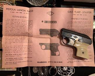 Pistola Lancia Razzi