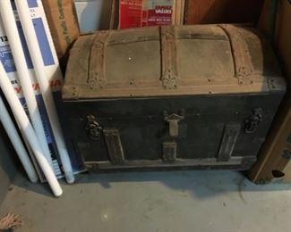 Rustic Antique Trunk