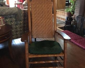 Antique Rocker, roughly 100 years old. perfect condition