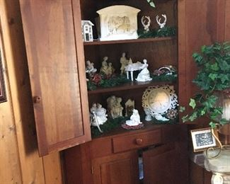 Antique corner cupboard from Franklin Tenn.