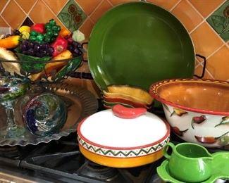 Paella Pan, Pottery and more..