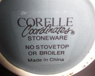 Corelle Coordinates Stoneware Sets