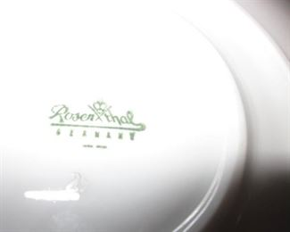 Rosenthal China Service With Extras
