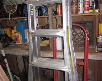 Man Cave Filled With Tools Little Giant Ladders/Werner Ladders