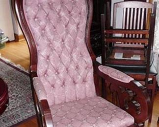 Victorian Rocking Chair - Great Condition