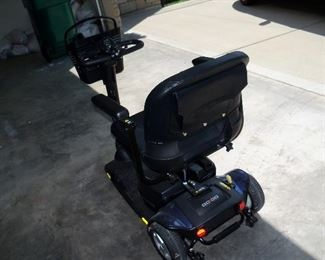 back of scooter