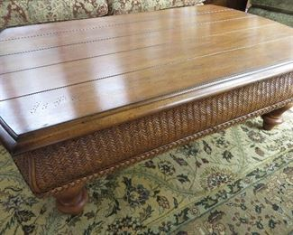 TOMMY BAHAMA for LEXINGTON RATTAN COFFEE TABLE TOMMY BAHAMA FURNITURE