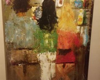 Amber Ivey Lane's at the bar by John Richard