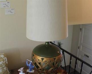 Vintage lamp sold