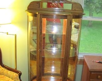 Beautiful Lighted Display Case
