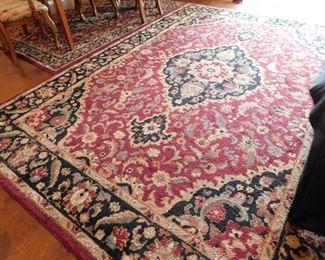 Karastan rugs, set of three. Matching patterns.