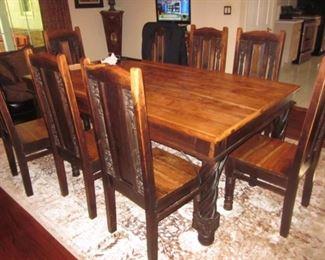 Antique Dining Suite