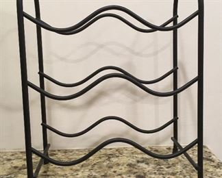 Iron wine rack (small)