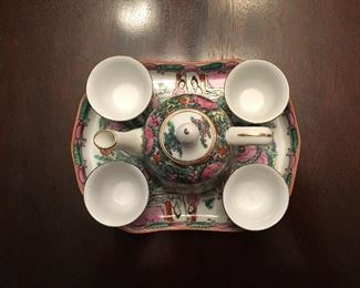 Alternate view of tea set