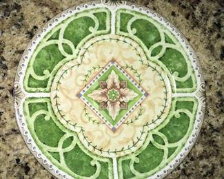 Andrea by Sadek Hedge Wood plate