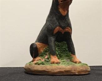 Charmstone Rottweiler figurine