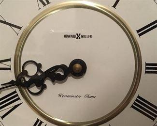 Alternate view of Howard Miller clock