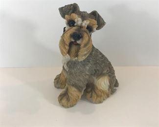 Schnauzer figurine