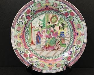Vintage Rose Mandarin plate