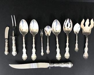 Gorham Strasbourg sterling silver serving pieces