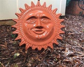 Ceramic sun