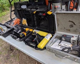 Power Tools: Porter-Cable, DeWalt, Craftsman, Ridgid