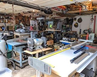 TOOLS! Machinery, Power Tools, Air Tools, Hand Tools, Vintage Tools, and More!