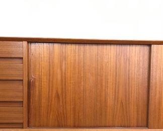 Alternate view of credenza door