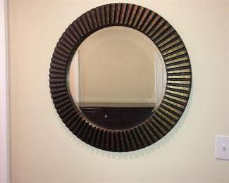 """North Beach wall mirror (diameter 34"""")"""