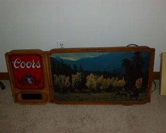 Another vintage Coors Sign