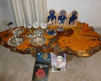 Fantastic Burled Wood Table