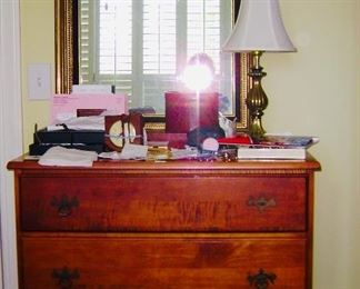 Solid 3 drawer dresser
