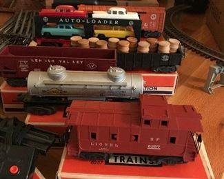 1940-50's Lionel trains