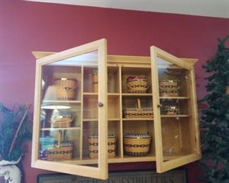 display cabinet and JW miniatures