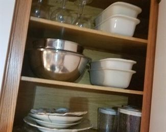 stainless steel, Longaberger loaf pans