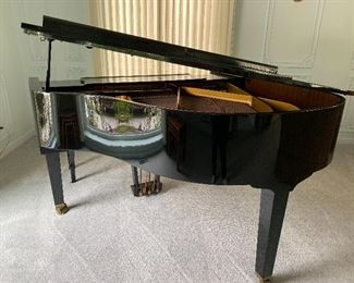 Petrof Baby Grand Piano. Was completely tuned and serviced last year