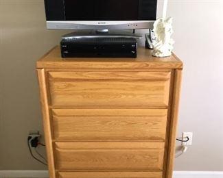 Oak Bedroom Drawers