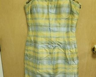 Maggie London Lined Silk Sundress